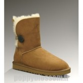 Abordable Bailey bouton Ugg-101 Chatain Bottes