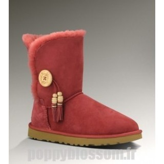 Authentiques Charms Ugg Bailey-108 Bottes rouges