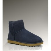 Bottes Ugg client d'abord-158 Mini Classic Navy