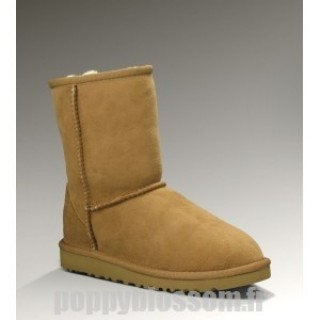 Fiable Ugg-025 Classic Short Bottes Chataigne