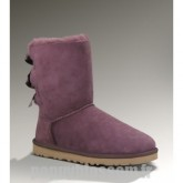 Hiver froid Ugg Bailey Bow-369 Fuchsia Bottes