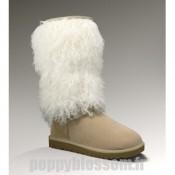 Magnifiques Ugg-300 bottes hautes de sable en peau de mouton Cuffe