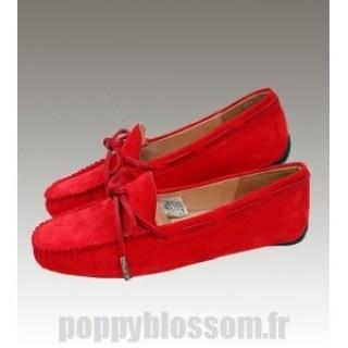 Restez Ugg-319 Dakota Red chaussons