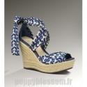 Sandales simple Ugg-293 Lucianna Marrakech Bleu