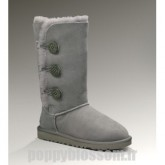 Ugg-009 Triplet Bailey Button Bottes Gris