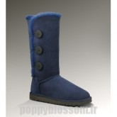 Ugg-092 Triplet Bailey Bouton Bottes Marine