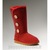 Ugg-094 Triplet Bailey Button Bottes rouges