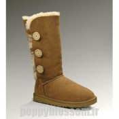 Ugg-098 Triplet Bailey Button Bottes Chataigne
