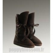 Ugg-265 bottes hautes de chocolat Roxy