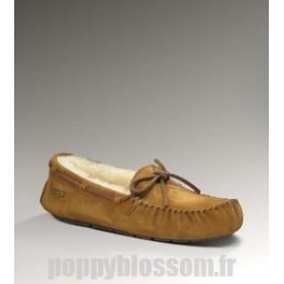 Ugg-323 Dakota Chatain chaussons