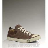 Ugg-363 Toile Evera Sneakers de chocolat