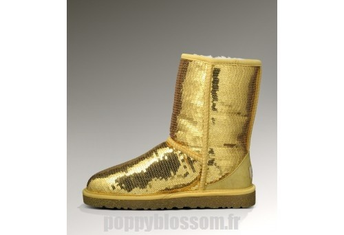 Attractive Ugg-146 court Sparkles Or classique Bottes?