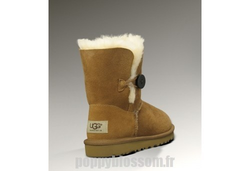 Hot bouton Ugg Bailey-002 Chatain Bottes?