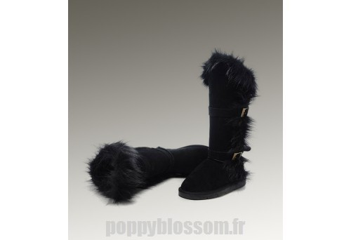 Assurance de la qualité Ugg-210 Grand Fur Black Fox Bottes?