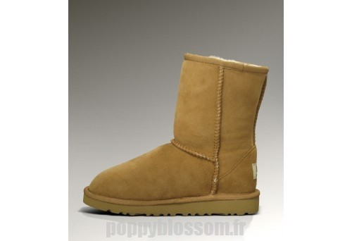Fiable Ugg-025 Classic Short Bottes Chataigne?