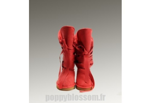 Impeccable Ugg-262 bottes hautes Roxy Red?