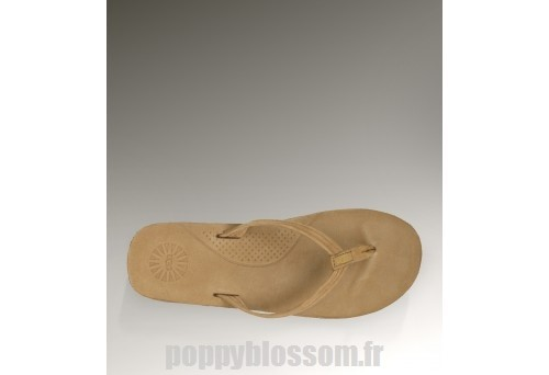 Gros Ugg-268 Chatain Kayla Sandals