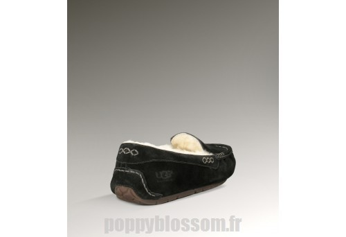 Rétention maximale Ugg-339 Ansley noir chaussons