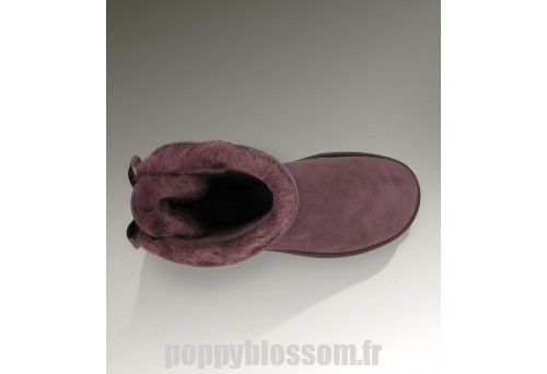 Hiver froid Ugg Bailey Bow-369 Fuchsia Bottes?