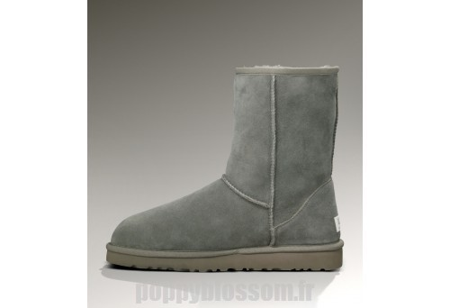 Promotions Ugg-060 Classic Short Gris Bottes