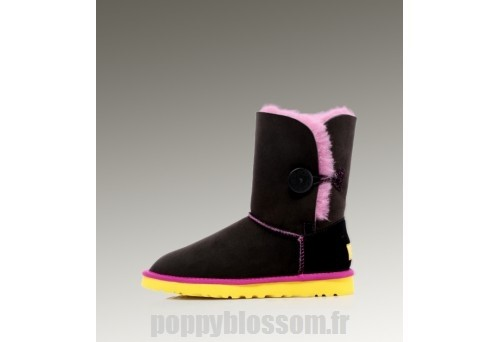 Outlet Ugg Bailey Button-078 Black Boots?