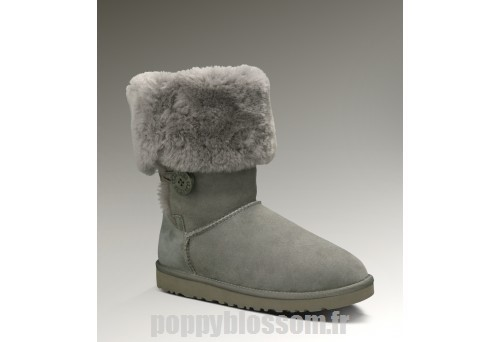 Cozy Bouton Ugg-096 Triplet Bailey Gris Bottes