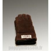 2014 Nouvelle Ugg-034 Tournez Cuff Glove chocolat