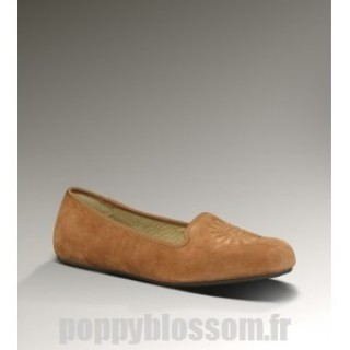 Abordable Ugg-302 Alloway chataignier chaussons
