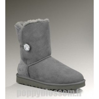 Achats Ugg Bailey Bling-076 Gris