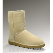 Anormale Ugg-057 Classic Short Bottes Sable