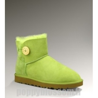 Assurance de la Ugg-085 Mini Bailey Button Bottes vertes