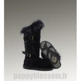 Assurance de la Ugg-210 Grand Fur Noir Fox Bottes
