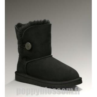 Bailey bouton Ugg-001 en ligne Noir Boots