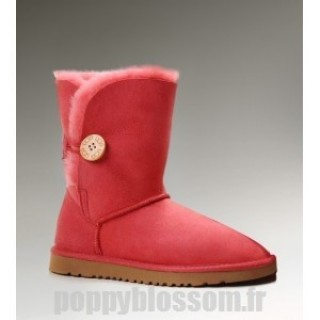Belle Bouton Ugg-104 Bailey bottes rouges