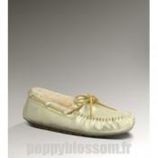 Favoris Ugg-345 Dakota blanc chaussons