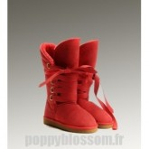 Impeccable Ugg-262 bottes hautes Roxy Red