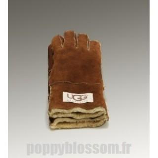 La dernière gants Ugg-030 Tournez Cuff Chataigne