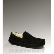 Mignon Ugg-050 Ascot Noir Bottes