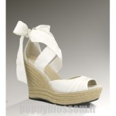Sandales Ugg-283 Lucianna blanc gros