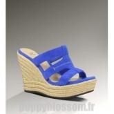 Sandales en édition limitée Ugg-277 Tawnie Bleu Saphir