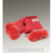 Ugg-041 Mitaines Paire de gants rouges