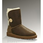 Ugg-084 bombardier Bailey Button Jacket Chataigne Bottes