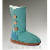 Ugg-091 Triplet Bailey Button Bottes Emerald