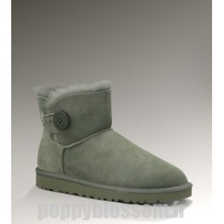 Ugg-099 Mini Bailey Button Gris Bottes
