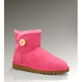 Ugg-111 Mini Bailey Button Rose Bottes