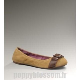 Ugg-117 Kellis Chestnut Flats Ballet