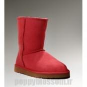 Ugg-169 Classic Short bottes rouges