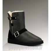 Ugg-178 court Dylyn Classic Noir Bottes