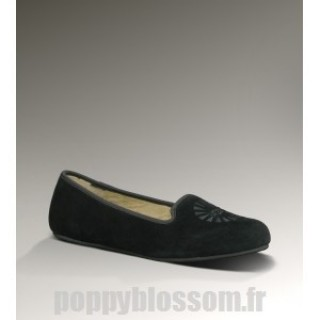 Ugg-301 Alloway noir chaussons