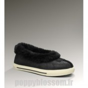 Ugg-306 bombardier Rylan Veste noire chaussons